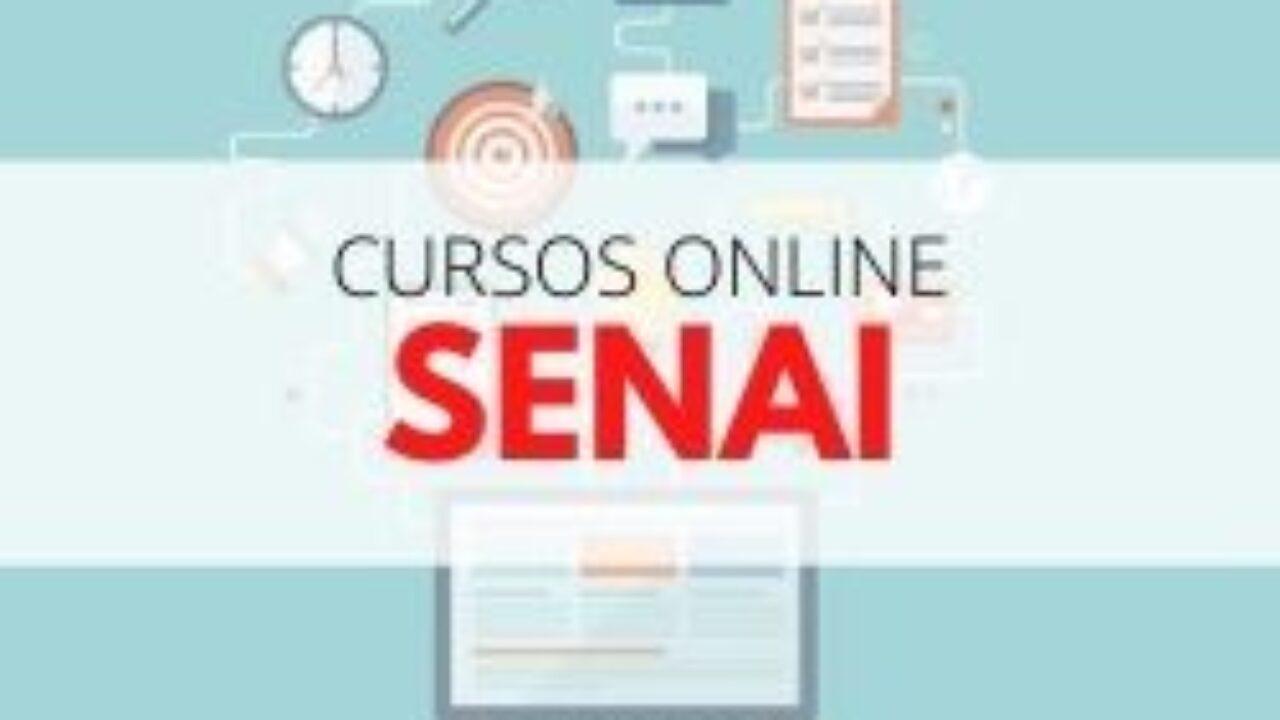 Senai Cursos Online 2022 Cursos Gratuitos Com Certificado